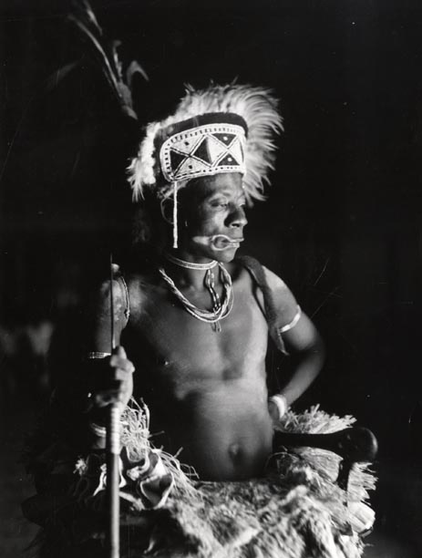baluba warrior