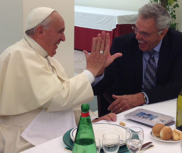 James Robison and pope