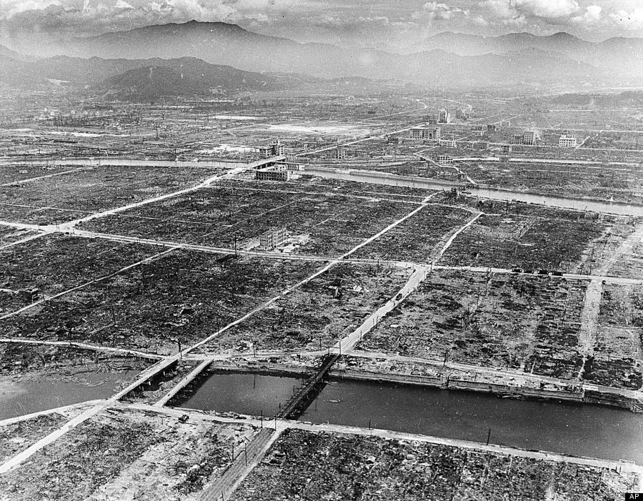 WWII HIROSHIMA BOMBING AFTERMATH