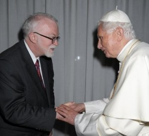 Timothy george and pope
