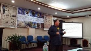 Stephen i aksjon i Davao