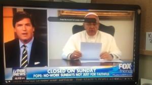 pope søndag