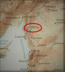 Antiokia ble det nye hovedkvarteret etter Jerusalems ødeleggelse, men mange byer i området sør, øst og nord for byen ble kristne menigheter etablert. Det finnes mange ruiner etter dem i dag.