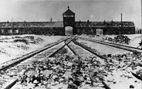 Konsentrasjonsleiren Auschwitz, nær den polske byen Oświęcim