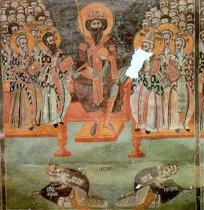 Var det de mange kirkemøtene som skulle avgjøre sannhet? Eller var det apostlenes opprinnelige lære? Fra kirkemøtet i Efesos