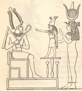 The_mythological_Trinity_or_Triad_Osiris_Horus_Isis