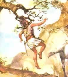 Absalom ble hengende etter håret i ett tre, det ble enden på opprøret mot sin far.