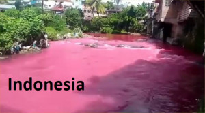 C 47 indonesia-river-turns-blood-red